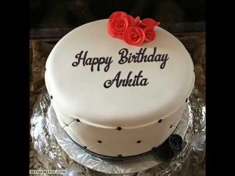 Happy birthday ankit cake images