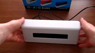 Уф-лампа 9 Вт. індукційна для шелаку, гель-лаку і гелю
