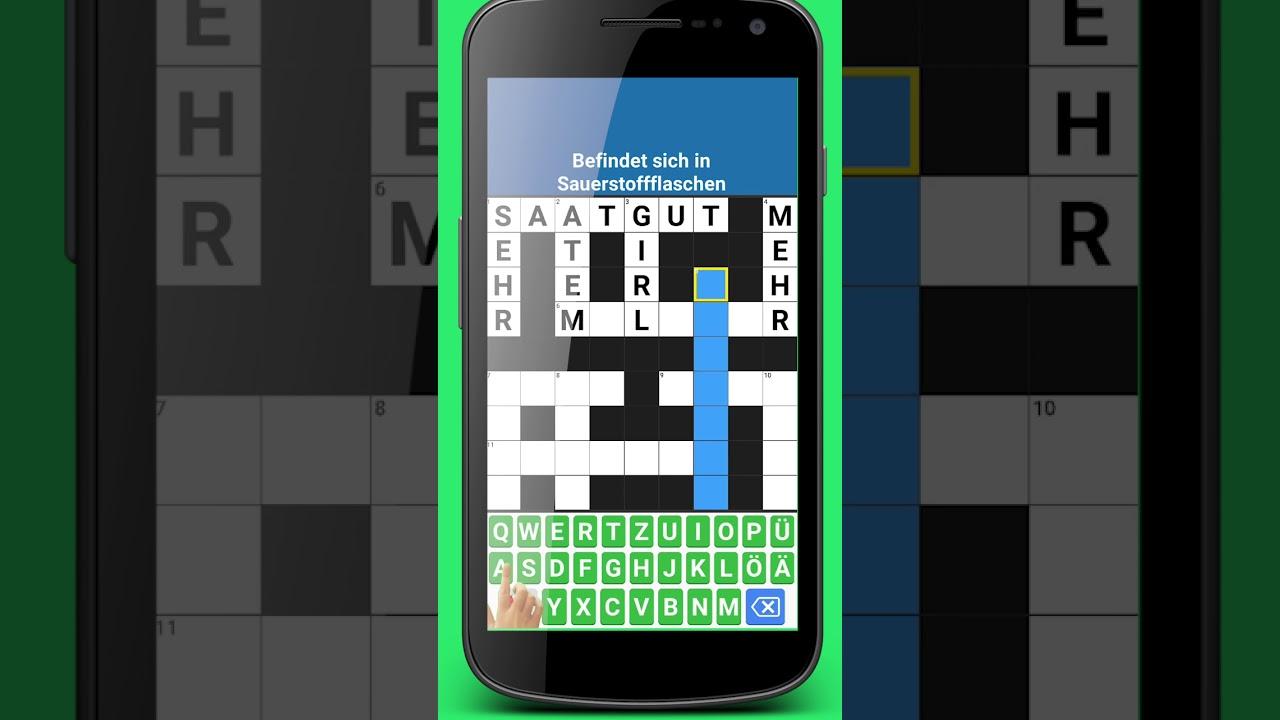 Klassisch Kreuzworträtsel