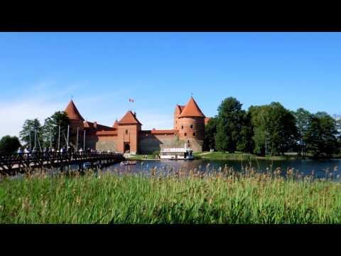 アキーラさん訪問!リトアニア・トラカイ城3,trakai-Castle,Lythuania