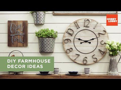 DIY Farmhouse Decor Ideas | Hobby Lobby®