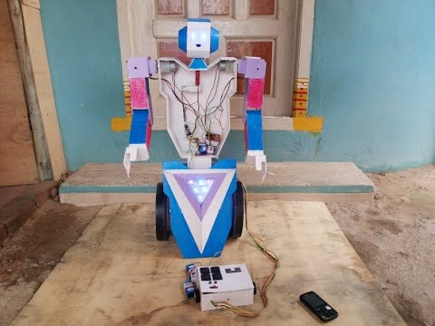 Robot ( Award Winning Robot ) Made In India / Tamil nadu / Chennai / Poonamallee