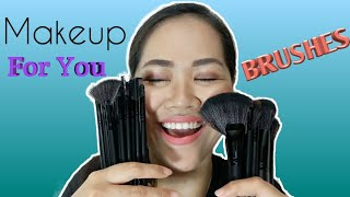 Makeup For You 24 pieces brush set