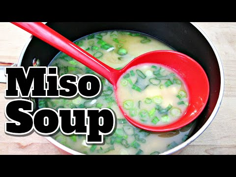 Miso Soup With Tofu And Green Onions - PoorMansGourmet