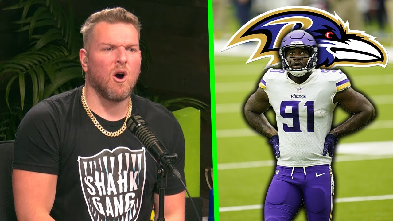 Pat McAfee Reacts To Yannick Ngakoue Signing With The Ravens
