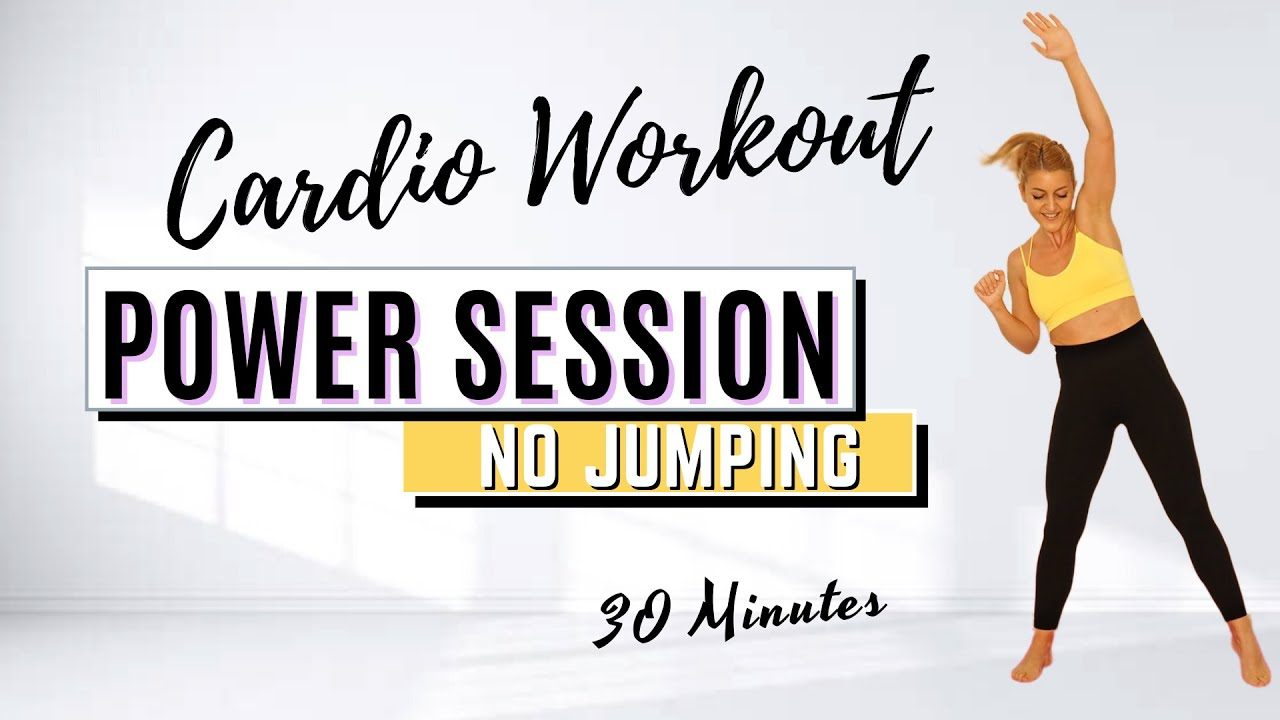 Download 🔥30 Min Cardio Power Session for Weight Loss & Toning🔥ALL STANDING🔥NO JUMPING🔥NO REPEAT🔥