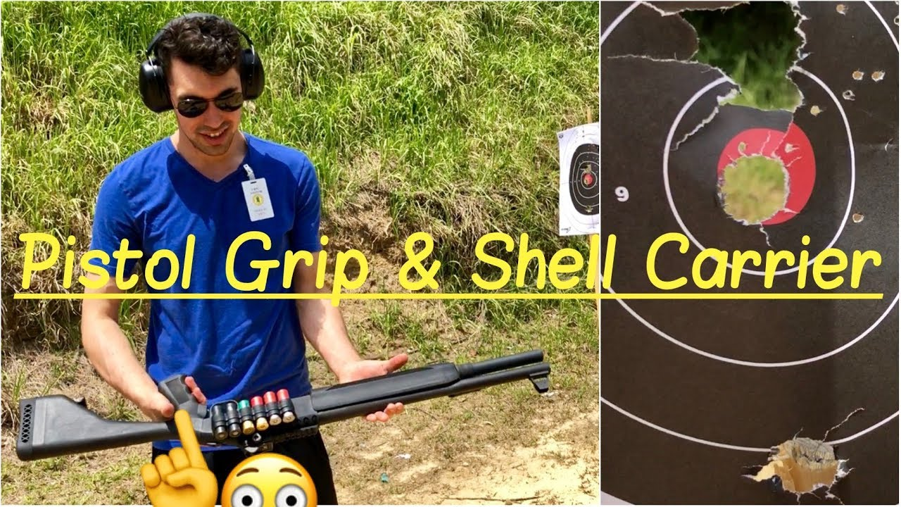 🥊 Pistol Grip Mossberg 930 Shotgun | Bull's Eye | 12 Gauge Mesa Tactical  Shell Carrier Holder Review