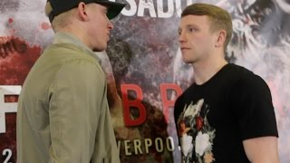 WAR LIVERPOOL! - TOM FARRELL v TOMMY CARUS HEAD-TO-HEAD AT PRESS CONFERENCE / MURRAY v ROSADO