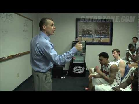 Gator Basketball: Postgame Locker Room - Missouri