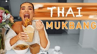 Juicy Goss & Thai Food MUKBANG