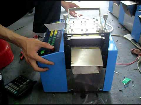 Automatic Cutting Machine - Clear Pvc Hose