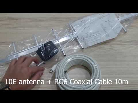 MYTV MYFREEVIEW 10E UHF DVB T2 Antenna Demo Guide Installation For Malaysia Channels