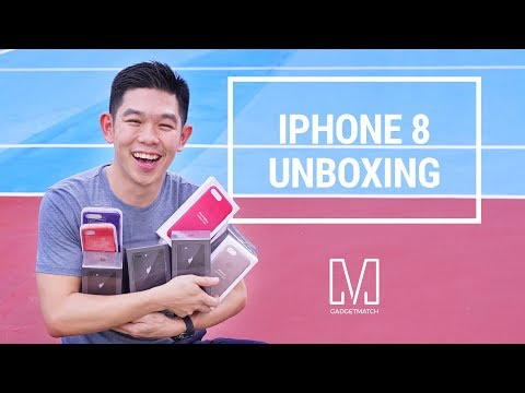 IPhone 8 And IPhone 8 Plus Unboxing