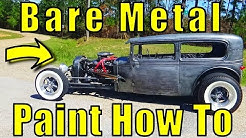 Rat Rod Bare Metal Paint Effect How To