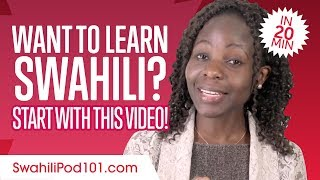Get Started with Swahili Like a Boss