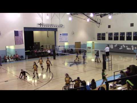 JCMS Volleyball vs EJHayes Game 1 9 8 2016