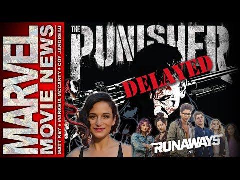 Runaways Trailer, Netflix's Punisher Delayed, Jenny Slate in Venom Movie | Marvel Movie News Ep 151