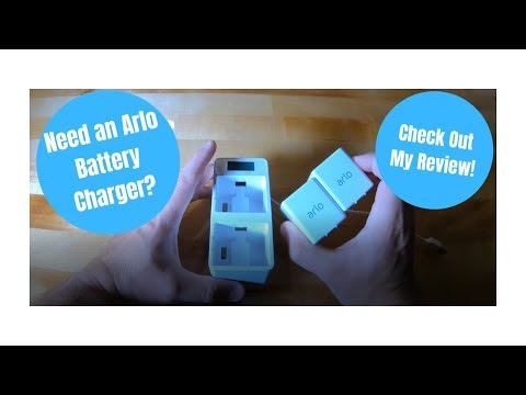 ARLO DUAL BATTERY CHARGING STATION - REVIEW