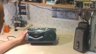 VITEK VT-3103 компактная кассетная магнитола