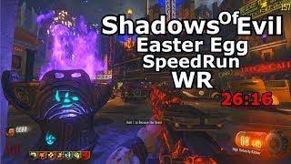 Shadows Of Evil Solo Easter Egg Speedrun World Record 26:16