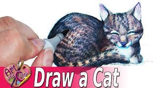 How to draw a Cat ....  again