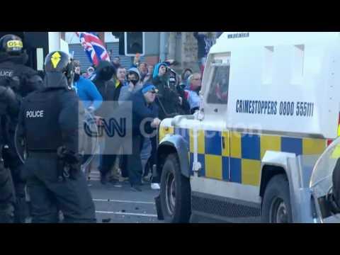 IRELAND:MASSIVE SECURITY PREP IN BELFAST