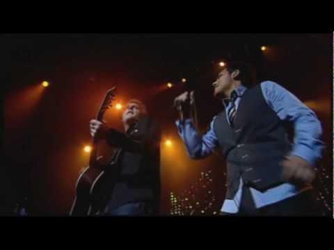 Lind, Nilsen, Fuentes, Holm - I Got A Woman (Live, Oslo Spektrum) HD
