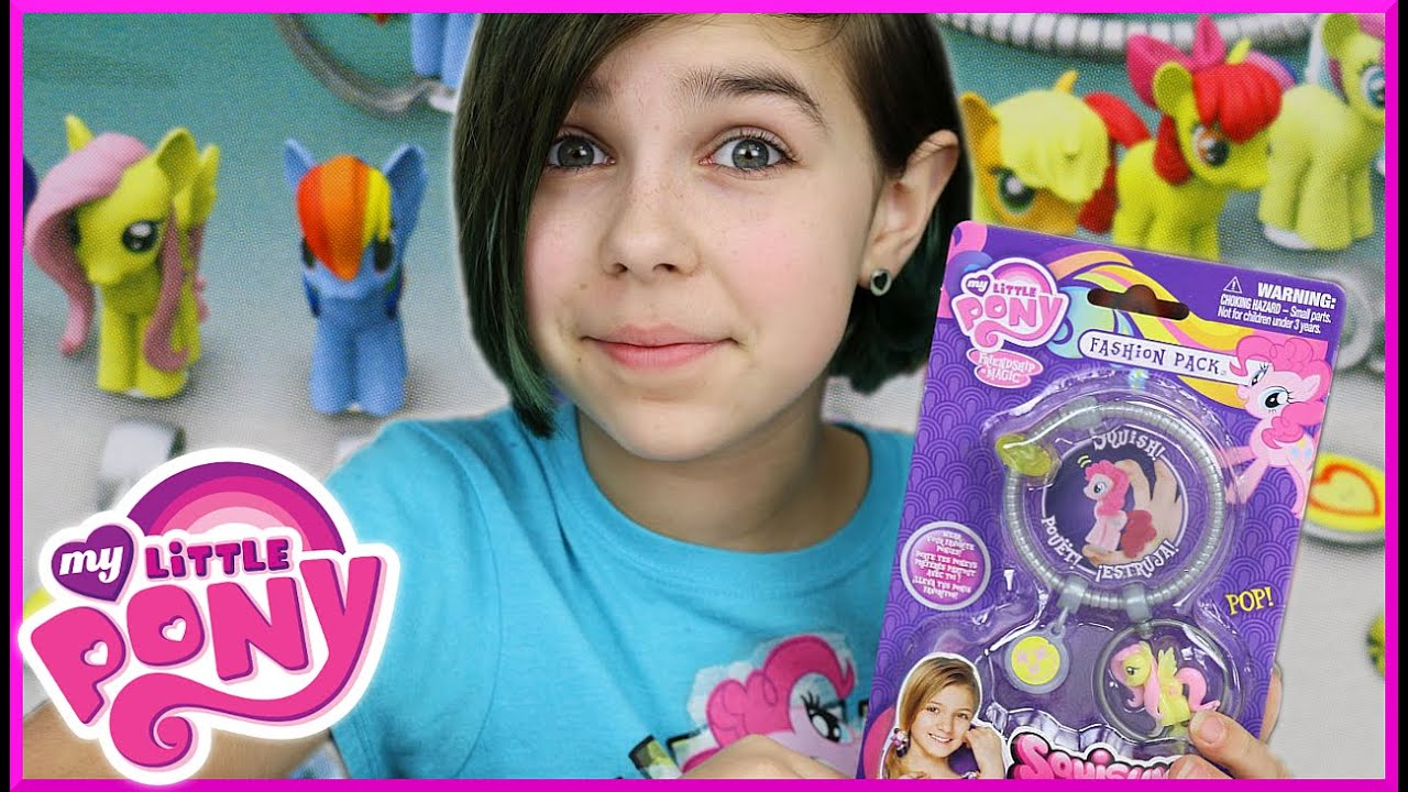 My Little Pony Squishy Pops Fluttershy Fashion Pack And