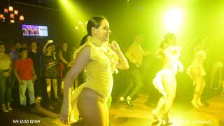 ZAFIRE DC Salsa Dance Performance At THE SALSA ROOM