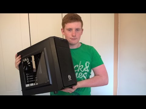 ThermalTake Versa H15 Gaming PC Case Unboxing