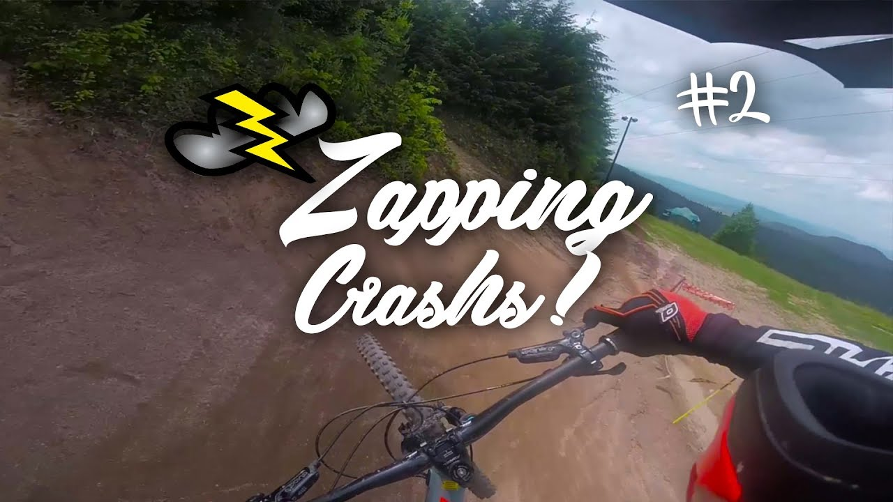 ZAPPING BEST OFF CRASH // FRENCH COMMUNITY MTB // VTT DH
