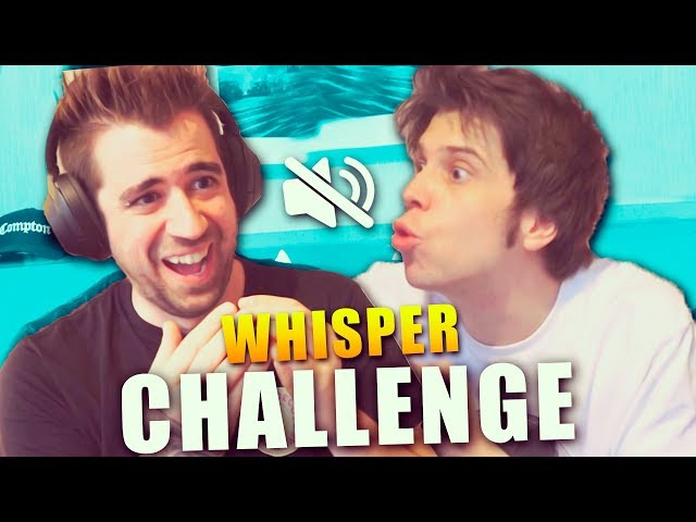 WHISPER CHALLENGE con Auronplay