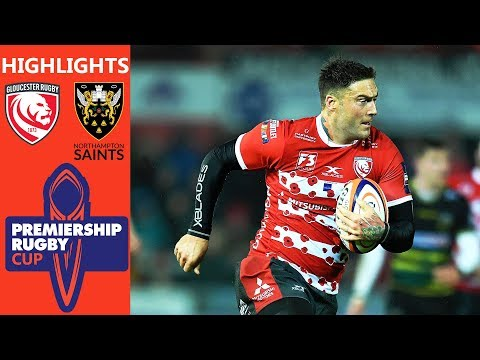 Gloucester V Northampton Saints | Last Gasp Converted Try Helps Gloucester | Premiership Rugby Cup