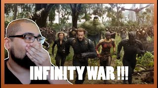 Infinity war trailer reaction - Chef's reaction