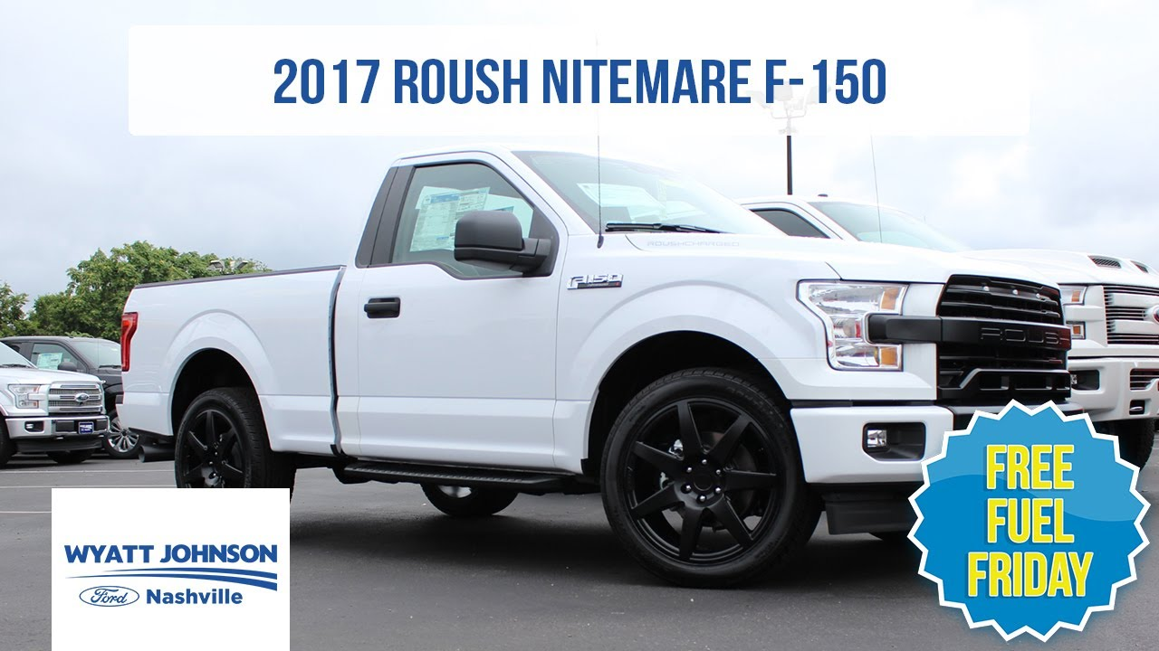 free fuel friday 2017 roush f 150 nitemare supercharged. Black Bedroom Furniture Sets. Home Design Ideas