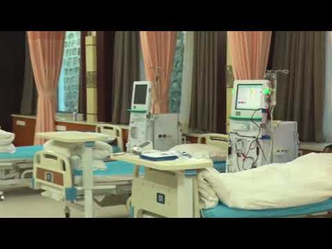 Beijing Tongshantang Hospital of TCM has the world's most cutting edge blood purification room