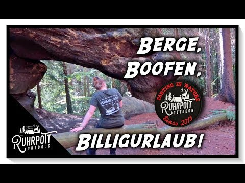 Berge, Boofen, Billigurlaub - Ruhrpott Outdoor 1815