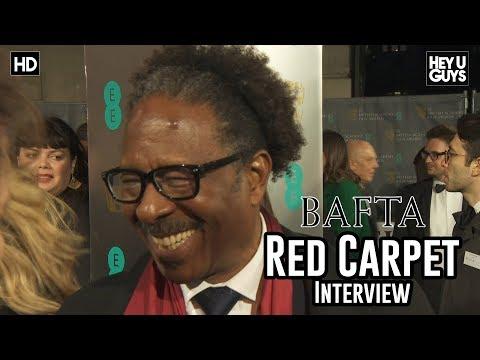 Clarke Peters Three Billboards Outside Ebbing, Missouri  BAFTA Awards 2018 Red Carpet