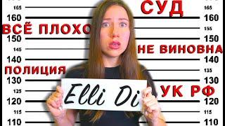 МНЕ ГРОЗИТ ТЮРЬМА , но Я НЕ ВИНОВНА Будет Суд | Elli Di