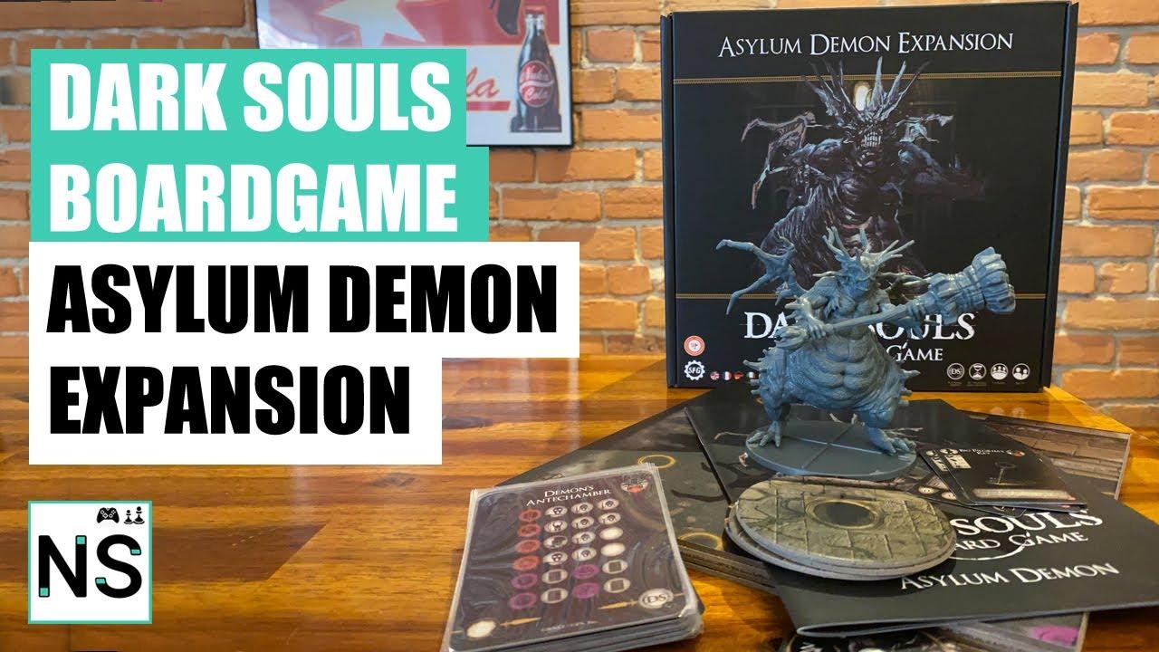 Steamforged Games Dark Souls Asylum Demon Expansion