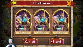 Sexy Rolling Session 22k Gems For Heroes Castle Clash