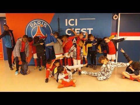 PSG Academy Aubervilliers - Visit Parc des Princes - Video complete - 2017 07 12
