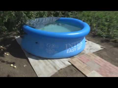 Надувной бассейн Intex или Bestway