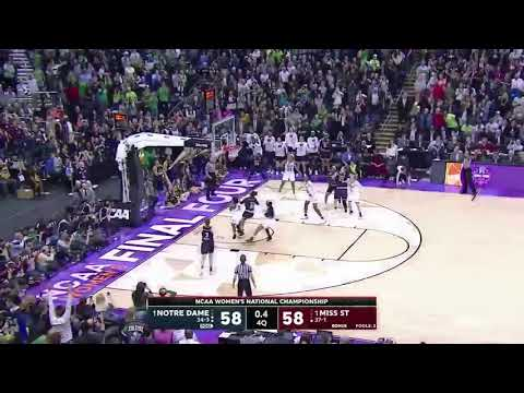 NOTRE DAME HITS ANOTHER BUZZER BEATER TO WIN THE NATIONAL CHAMPIONSHIP! (2018)