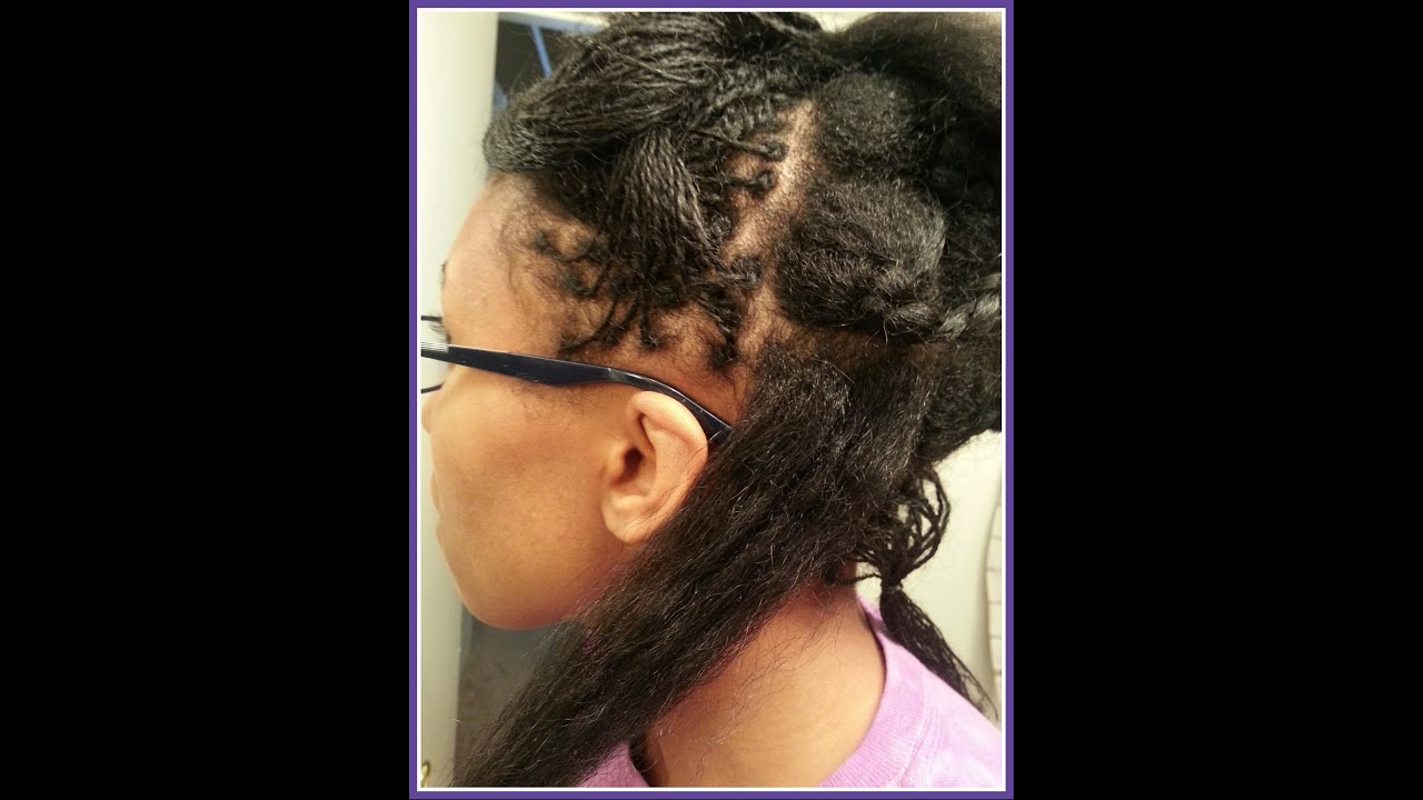 Image Result For Loc Styles For Medium Hair