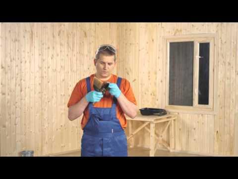 ТЕКС: Как окрасить деревянные стены и потолок
