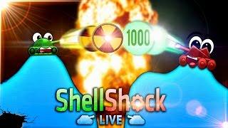 DIE HEFTIGSTE MEGA NUKE?! (ShellShock Live) - mit Level 100 Account!
