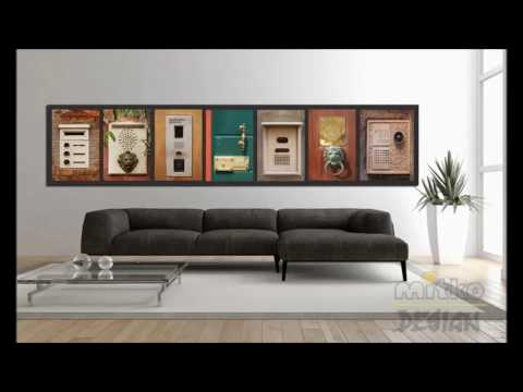 glasbilder wohnzimmer youtube. Black Bedroom Furniture Sets. Home Design Ideas