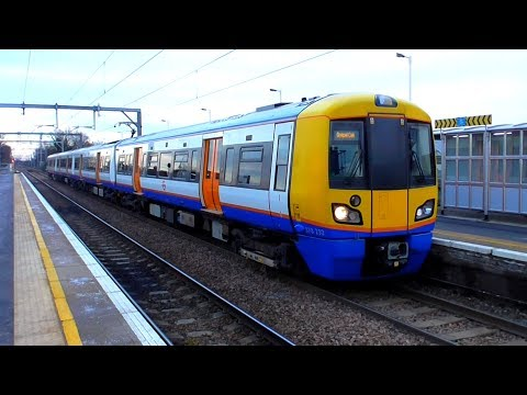 London Overground 378232 On The GOBLIN - First Electric Passenger Train In Service - 31/01/19