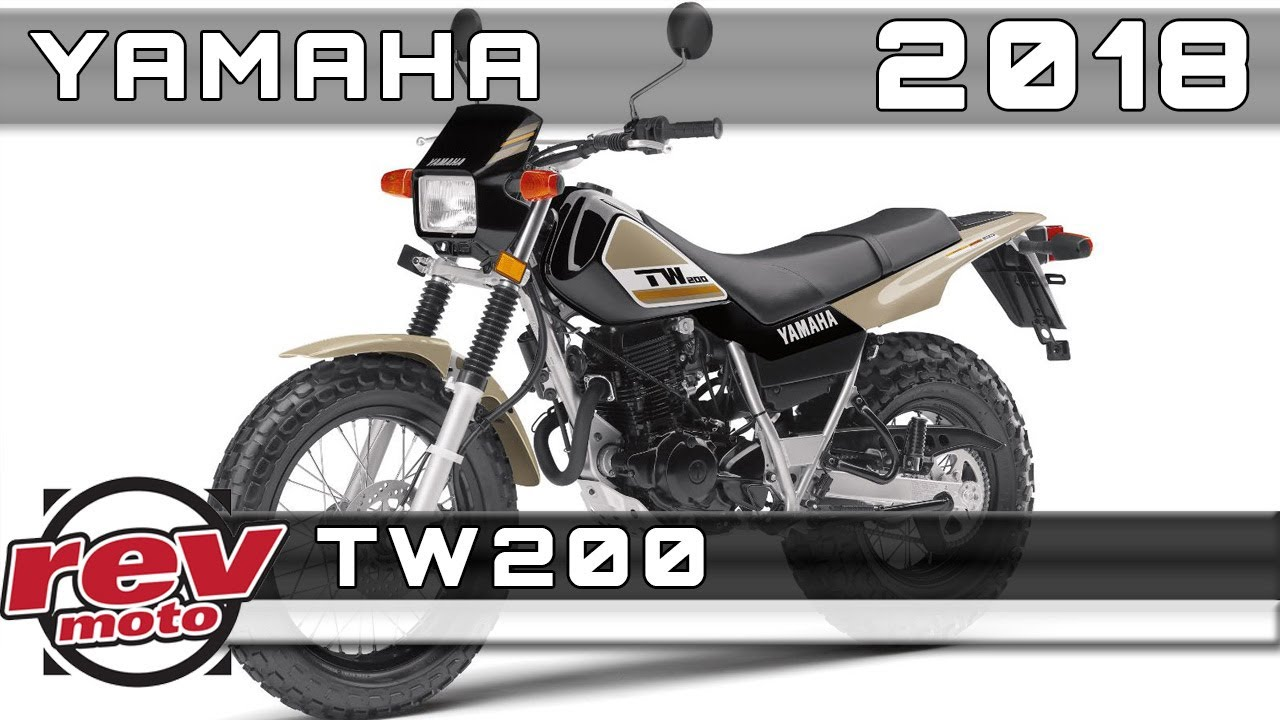 2018 YAMAHA TW200 Review Rendered Price Release Date - YouTube